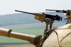 Military Tank Turret in Israel stock photos
