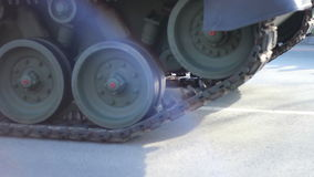 Military Tank Vehicle stock video footage
