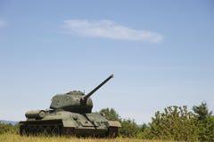 Military tank Stock Image