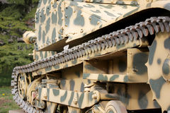 Military Tanks, detail Stock Photography