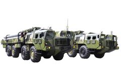 Military technics. Stock Image
