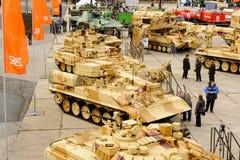 Military technics exposition RAE. Nizhniy Tagil Royalty Free Stock Images