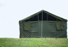 Military tent Stock Images