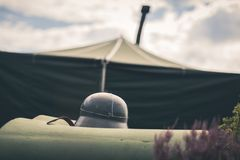 Military tent Royalty Free Stock Photography