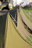 Military tents Stock Photo