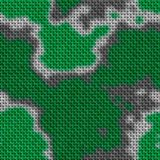 Military texture in the background. Woven fabric with a camouflage pattern. Recurring camouflage pattern. Stock Photography