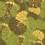 Military texture of brains. Royalty Free Stock Images