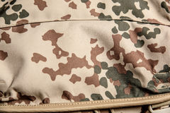 Military texture camouflage background close-up Royalty Free Stock Photo