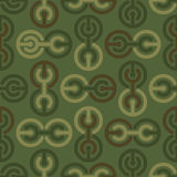 Military texture. Soldier camouflage ornament. khaki green backg Royalty Free Stock Photography