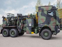 MIlitary tow truck Royalty Free Stock Photos