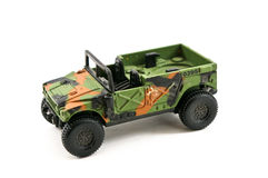 Military toy car Stock Images