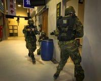 Military training Royalty Free Stock Photo