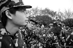 Military Training Royalty Free Stock Image