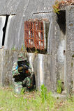 Military training combat. Cleaning urban areas Stock Images