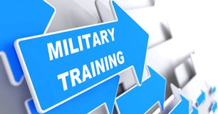 Military Training. Education Concept. royalty free illustration
