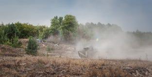 Military training exercises Stock Photography