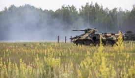 Military training  at training Center of National Guard of Ukrai Stock Image