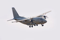 Military transport aircraft Royalty Free Stock Photography