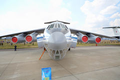 Military transport aircraft Il-76MD Royalty Free Stock Photos