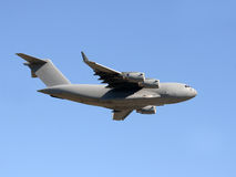 Military transport airplane Stock Photography
