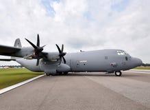 Military transport airplane Royalty Free Stock Photos