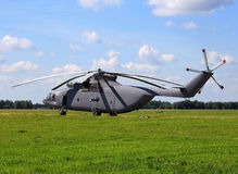 Military transport helicopter Royalty Free Stock Photography