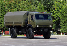 Military transport vehicle Stock Images