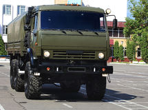 Military transport vehicle Stock Image