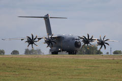 Military transporter Airbus A400M Stock Photos
