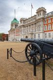 Military trophy Turkish cannon at Horse Guards Parade Whitehall Royalty Free Stock Photo