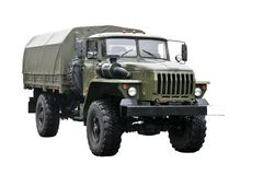 Military truck royalty free stock images