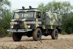 Military truck GAZ-66 Stock Images