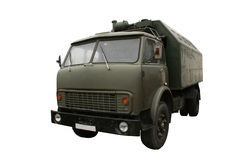 Military truck isolated. Stock Images