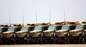 Military trucks Royalty Free Stock Image