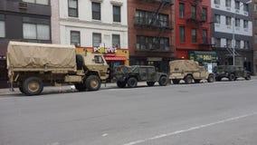 Military trucks Royalty Free Stock Photography