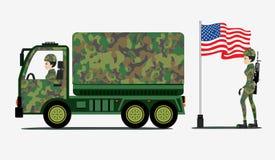 Military Trucks Stock Photography
