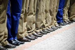 Military uniform detail Royalty Free Stock Photos