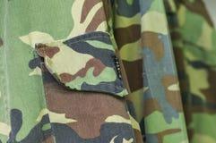 Military uniform fabric Stock Photo