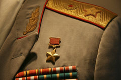 Military uniform Stock Photo