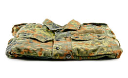 Military uniform isolated Royalty Free Stock Images