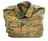 Military uniform isolated Royalty Free Stock Image