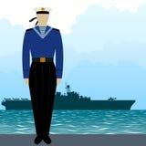 Military Uniform Navy sailor Stock Images