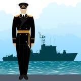 Military Uniform Navy sailor-8 Royalty Free Stock Photos