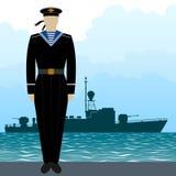 Military Uniform Navy sailor-7 Stock Photos