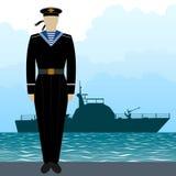 Military Uniform Navy sailor-6 Royalty Free Stock Photos