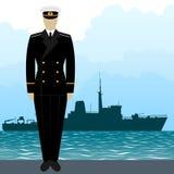 Military Uniform Navy sailor-10 Royalty Free Stock Photography
