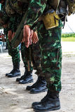 Military uniform. Stock Photo
