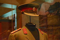 Military uniforms of allied forces Royalty Free Stock Images
