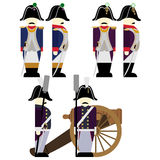 Military Uniforms Army France in 1812-7 Stock Photography