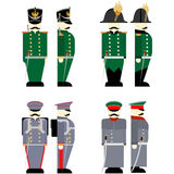 Military Uniforms Russian army in 1812-1 Stock Photo